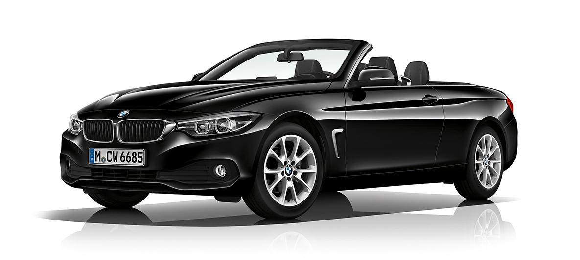 bmw 4er cabrio auf einen blick. Black Bedroom Furniture Sets. Home Design Ideas