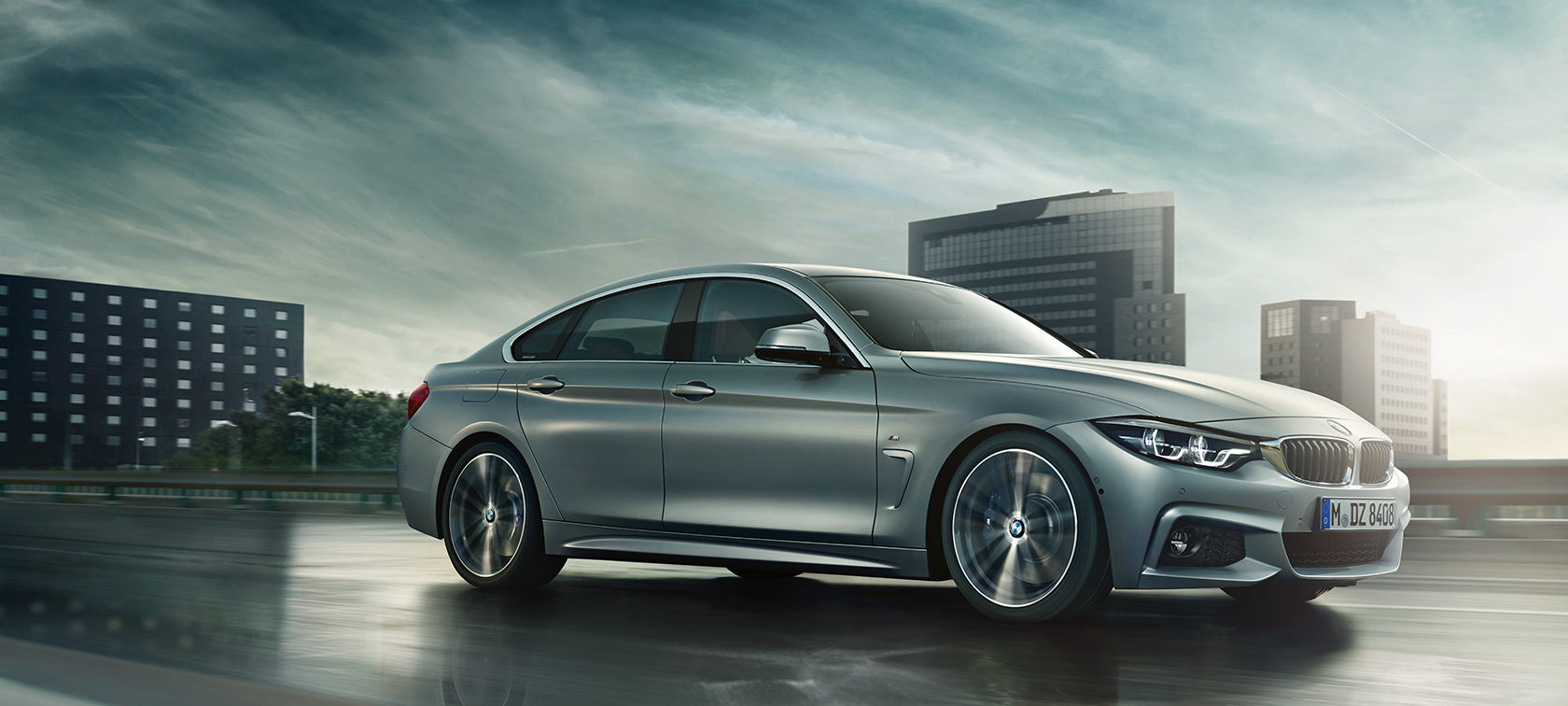 Bmw 4er gran coup design for Bmw 4er gran coupe m paket