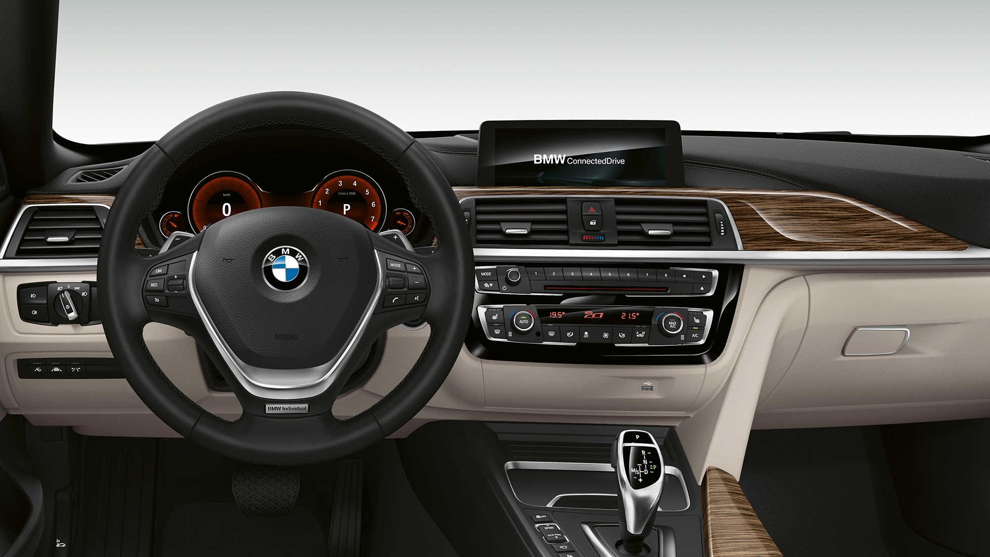 BMW 4er Gran Coupé, Modell Luxury Line Cockpit