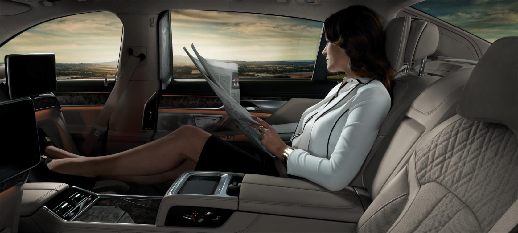 Bmw 7er Limousine Komfort Amp Ambiente