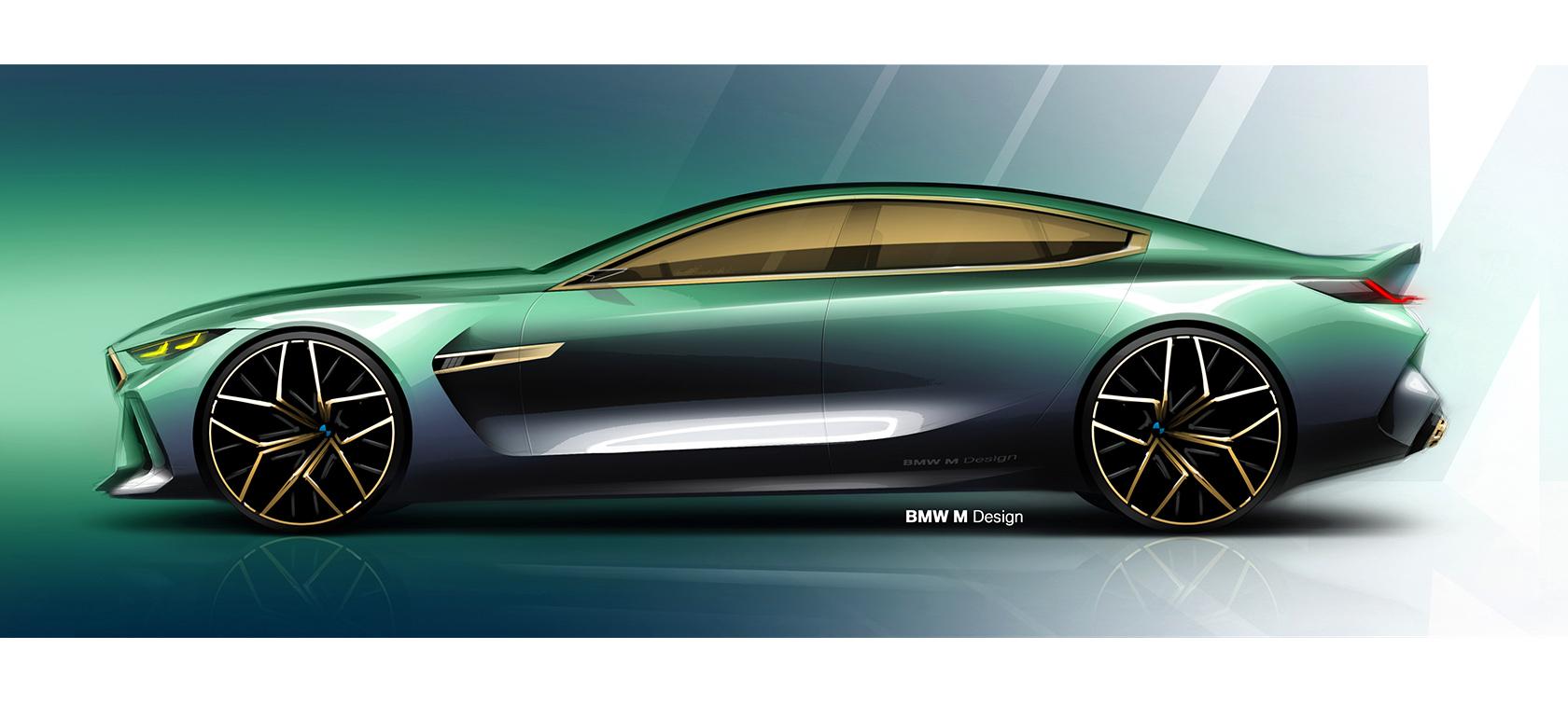 bmw concept m8 gran coupé: high-performance luxury | bmw
