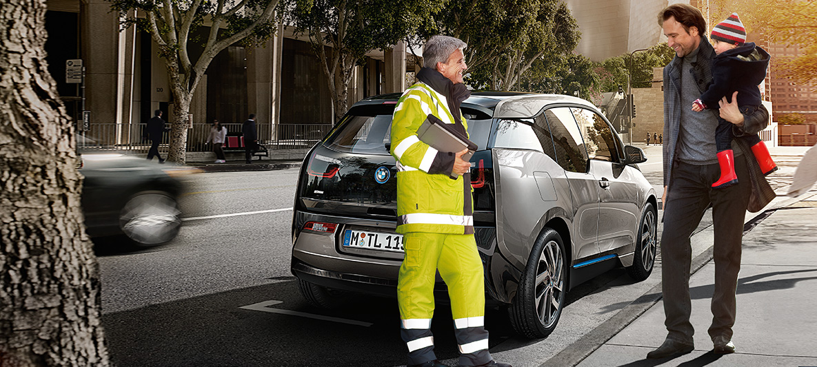 bmw service und zubehör : sicherheit unterwegs